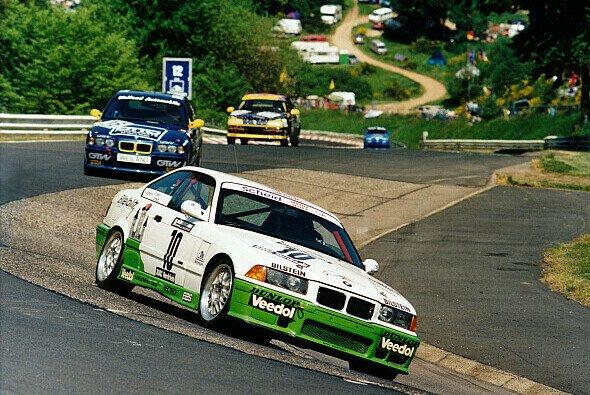 Mit dem Eifelblitz-BMW gewann Sabine Schmitz 1996 und 1997 das 24h-Rennen Nürburgring - Foto: BMW Motorsport