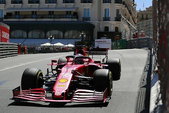Ferrari legte heute in den Monaco-Trainings der Formel 1 vor - Foto: LAT Images