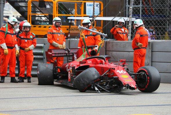 Trotz Unfall: Charles Leclerc startet in Monte Carlo voraussichtlich auf der Pole Position. - Foto: LAT Images