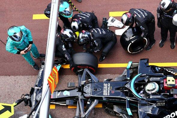 Verpatzter Mercedes-Stopp: Valtteri Bottas ist sich keiner Schuld bewusst. - Foto: LAT Images