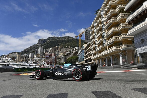 Alessio Deledda durfte in Monaco fahren obwohl er im Qualifying zu langsam war. - Foto: LAT Images