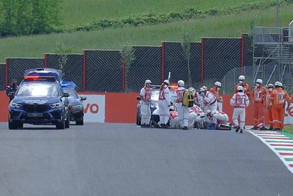 Das Moto3-Qualifying wurde nach einem dramatischen Crash abgebrochen - Foto: MotoGP.com