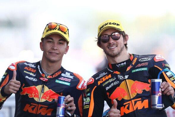 Fernandez (l.) und Gardner (r.) stehen vor ihrem MotoGP-Debüt - Foto: LAT Images