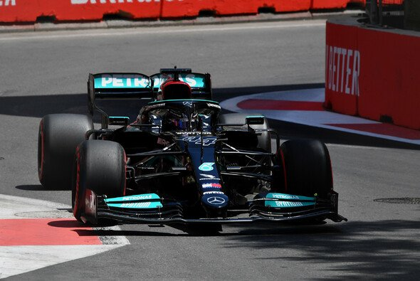 Lewis Hamilton erreichte im Training in Baku nicht einmal die obere Hälfte des Klassements - Foto: LAT Images