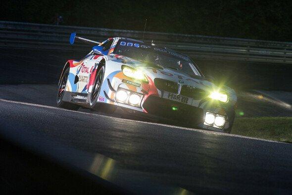 2020 musste das 24-Stunden-Rennen auf dem Nürburgring zeitweise wegen starken Regens unterbrochen werden - Foto: BMW M Motorsport