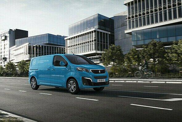 Von außen ist der e-Expert Hydrogen nicht von seinem batterieelektrischen Schwestermodell zu unterscheiden - Foto: Peugeot