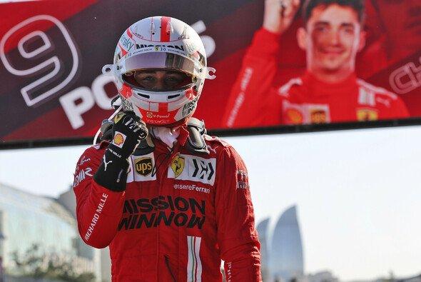 Charles Leclerc war mit seinem Qualifying in Baku nicht zufrieden - dennoch Pole - Foto: LAT Images