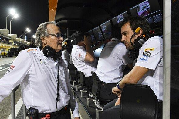 Mansour Ojjeh war seit 1984 fester Bestandteil von McLaren - Foto: LAT Images