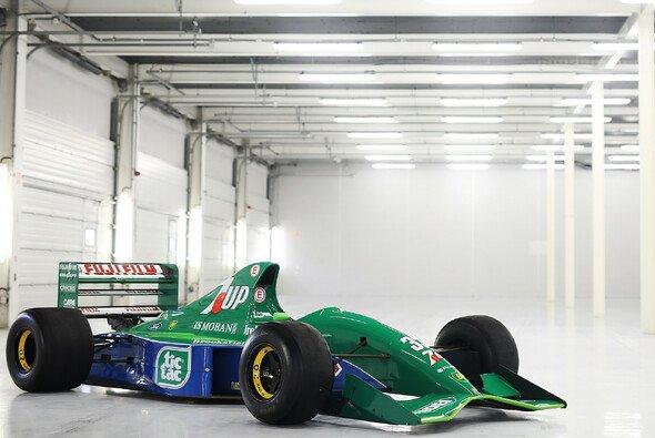 1991 debütierte Michael Schumacher mit dem Jordan 191 in Spa. - Foto: Speedmastercars.com