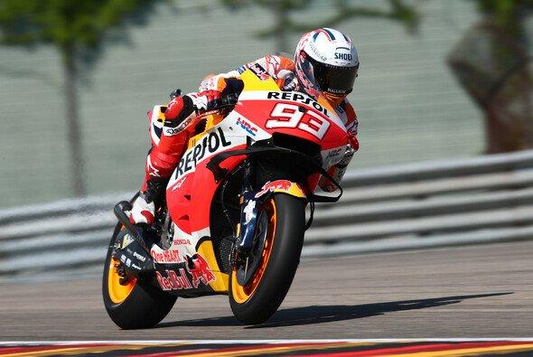 Marc Marquez kehrt in Deutschland zurück auf das Siegerpodest. - Foto: LAT Images