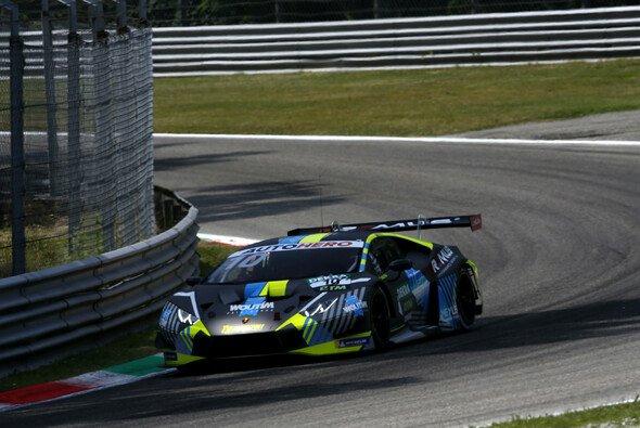 Der T3-Lamborghini von Esteban Muth war beim DTM-Saisonstart stark - Foto: LAT Images