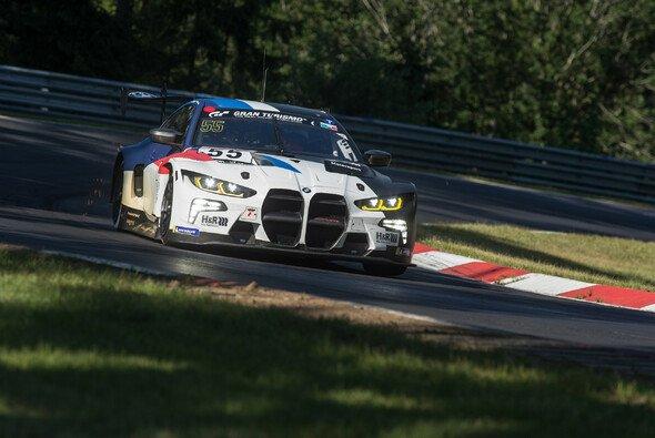 BMW wollte am Samstag auf der Nordschleife die Rennpremiere des neuen M$ GT3 feiern - Foto: BMW Motorsport