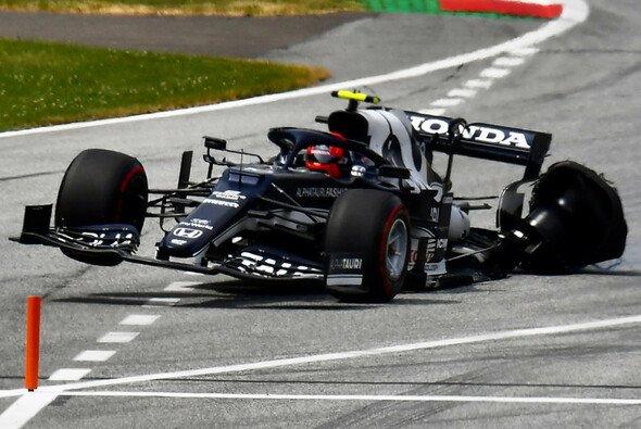 Pierre Gasly ist nach dem Unfall mit Charles Leclerc im Formel-1-Rennen in Österreich vergangenen Sonntag nicht nachtragend - Foto: LAT Images
