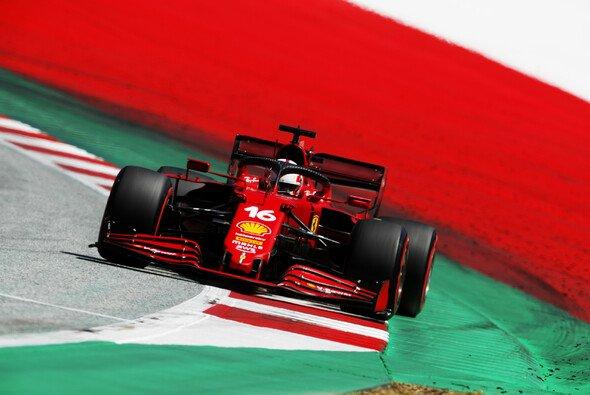Charles Leclerc verpasste im Österreich-Qualifying die Top-10 - Foto: LAT Images