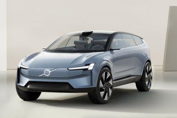 Innen und außen ist beim Volvo Concept Recharge eine neue Designsprache zu erkennen - Foto: Volvo