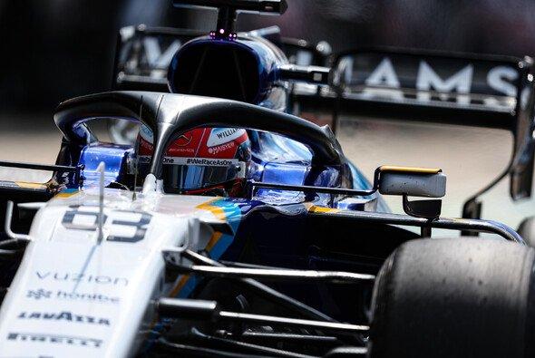 Williams-Pilot George Russell fuhr im Formel-1-Qualifying in Silverstone sensationell auf Startplatz acht - Foto: LAT Images