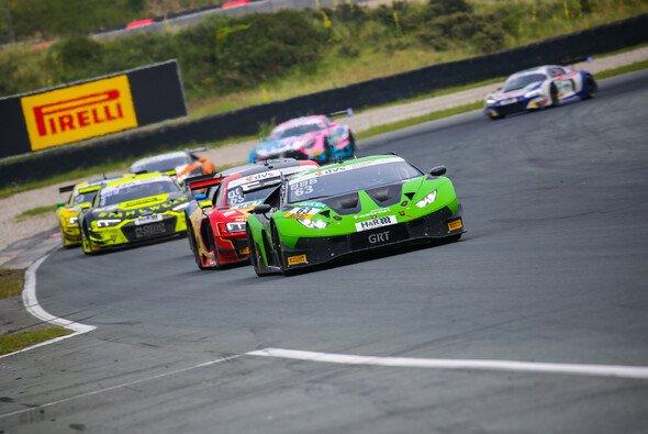 Das GRT Grasser Racing Team stand mit dem Lamborghini Huracán GT3 EVO beim dritten Event in Folge auf dem Podest - Foto: Axel Weichert