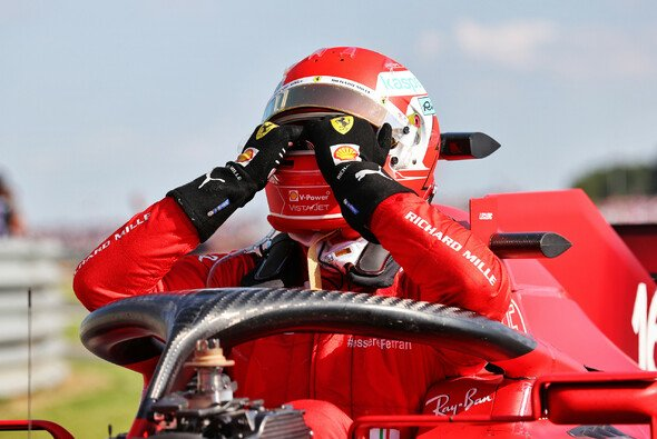 Charles Leclerc bedauerte in Silverstone einen knapp verpassten ersten Saisonsieg - Foto: LAT Images