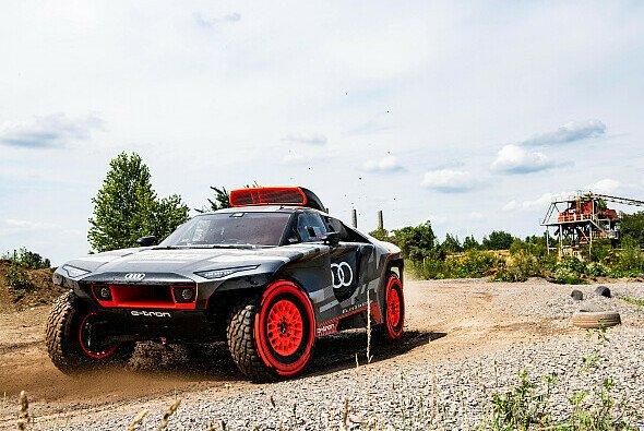 So sieht der neue Dakar-Einsatzwagen von Audi aus. - Foto: Audi Sport
