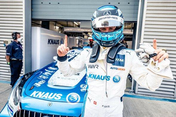 Philip Ellis stellt seinen Winward-Mercedes in der Lausitz auf Pole - Foto: DTM