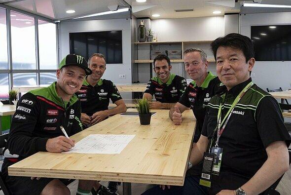 Alex Lowes bleibt bei Kawasaki - Foto: Kawasaki
