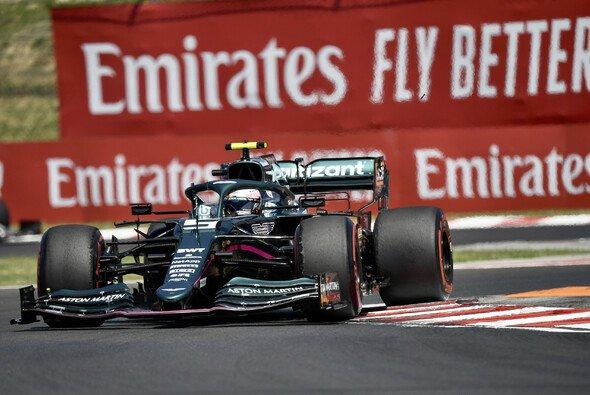 Sebastian Vettel fuhr im Training in Ungarn in die Top-10 - Foto: LAT Images
