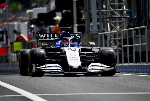 Williams rechnete in Ungarn mit einer Überrundung - und tankte nicht genügend Benzin - Foto: LAT Images