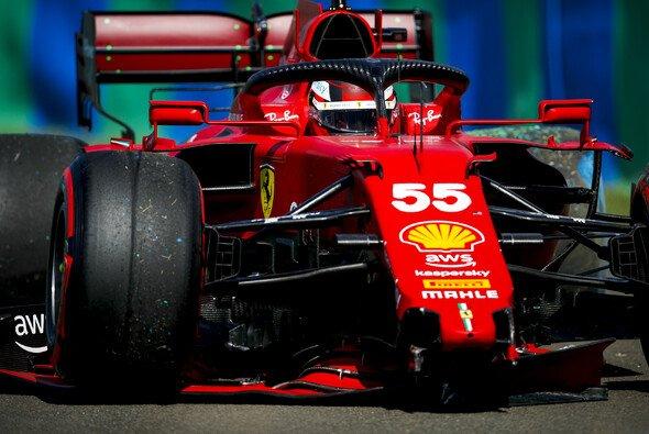 Carlos Sainz ist mit seiner bisherigen ersten Ferrari-Saison trotz guter Kritiken nicht ganz zufrieden - Foto: LAT Images