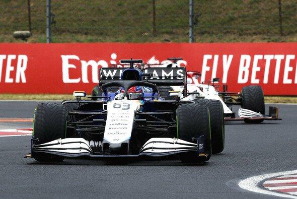 George Russell beendete den Ungarn GP auf Platz neun - Foto: LAT Images