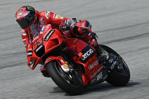 Francesco Bagnaia tankte noch einmal Selbstvertrauen für das Rennen - Foto: LAT Images