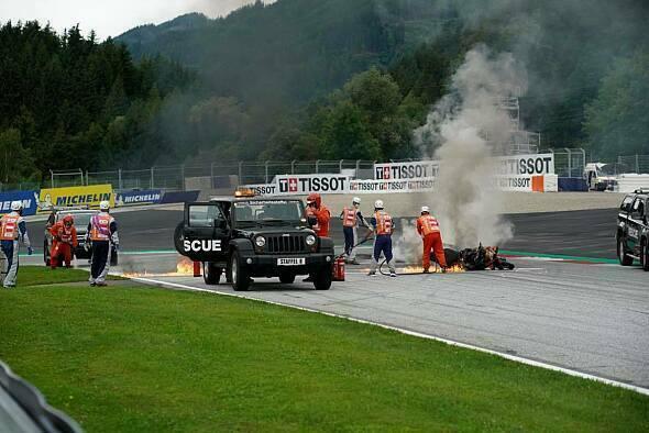 Dieser Feuer-Unfall sorgt für eine lange Unterbrechung - Foto: gp-photo.de / Ronny Lekl