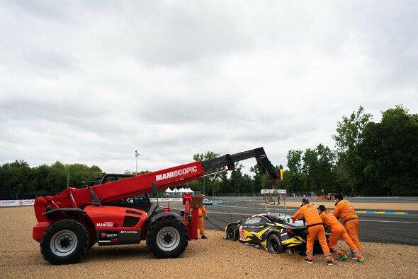 Toyota sorgt im Le-Mans-Qualifying für die schnellste Rundenzeit und geht als Favorit in die Hyperpole-Session. - Foto: LAT Images