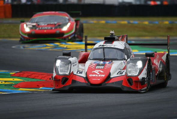 Robert Kubica im WRT-Wagen #41 hatte in Le Mans den Klassensieg bis kurz vor Schluss dicht vor Augen. - Foto: LAT Images
