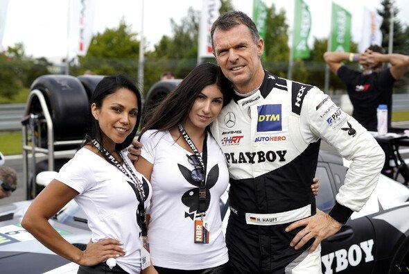 Hubert Haupt ist samt Playboy in die DTM zurückgekehrt - Foto: LAT Images