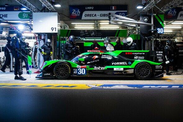 Rene Binder bestritt am vergangenen Wochenende das 24 Stunden Rennen on Le Mans für das DUQUEINE Team - Foto: DUQUEINE/ENIK