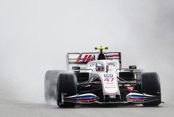 Mick Schumacher sicherte sich im verregneten Spa-Qualifying Startplatz 17 für den Belgien GP - Foto: LAT Images