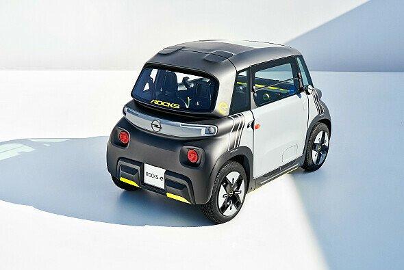 Der kompakte Rocks-e kann von Fahrern ab 15 Jahren gesteuert werden - Foto: Opel