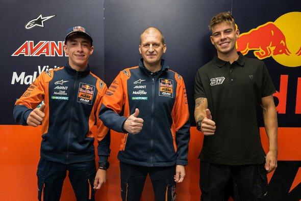 Aki Ajo mit seinen Fahrern für 2022 - Foto: KTM Images/Polarity Photo