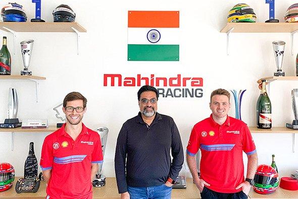 Alexander Sims und Oliver Rowland gehen in der kommenden Saison für Mahindra an den Start - Foto: Mahindra