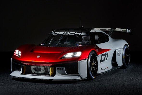 So sieht der neue Porsche Mission R aus - Foto: Porsche