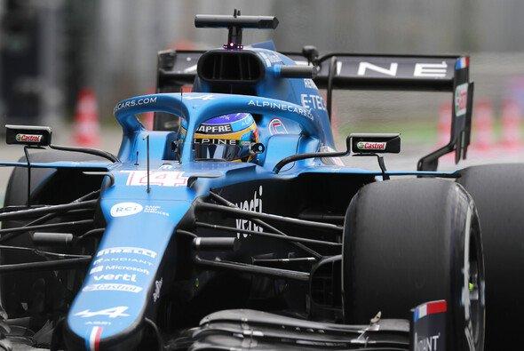 Fernando Alonso ka im Qualifying des Italien Gp nicht über Position 13 hinaus - Foto: LAT Images