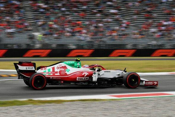 Antonio Giovinazzi fuhr im Monza-Qualifying der Formel 1 zum zweiten Mal in Folge ins Q3 - Foto: LAT Images