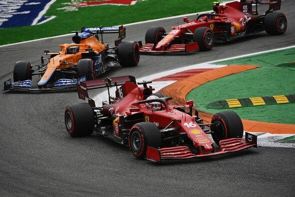 Ferrari konnte beim Heimrennen in Monza nicht das Tempo von McLaren mitgehen - Foto: LAT Images