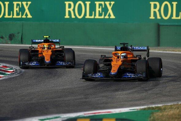 Mclaren machte mit weichen Reifen im Sprint von Monza allles richtig - Foto: LAT Images
