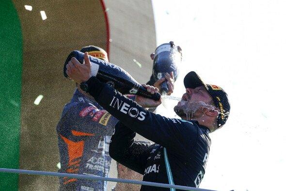 Valtteri Bottas feierte in Monza ein beeindruckendes Podium - Foto: LAT Images