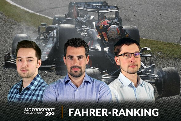 Lewis Hamilton und Max Verstappen finden sich im Fahrerranking nach ihrem Monza-Crash nur im hinteren Mittelfeld wieder - Foto: LAT Images/Motorsport-Magazin.com