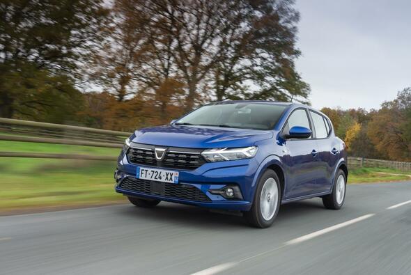 Der Dacia Sandero war im Juli das meistverkaufte Auto Europas - Foto: Dacia