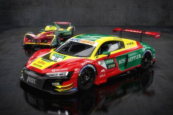 Lucas di Grassi wird im Design seines Formel-E-Meisterautos aus der Saison 3 in der DTM antreten - Foto: Abt Sportsline