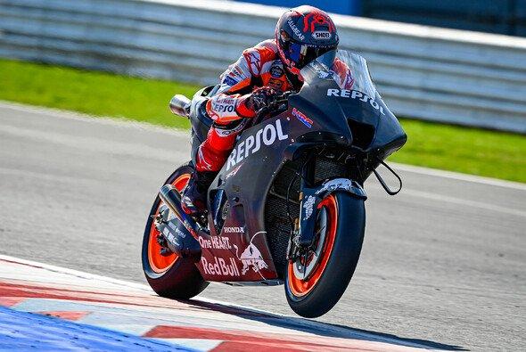 Marc Marquez saß zum resten Mal auf dem neuen Motorrad - Foto: MotoGP