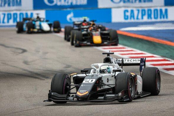 Lehrreiches Wochenende für David Beckmann bei der FIA Formel 2 in Russland - Foto: Dutch Photo Agency